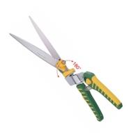 180° Swivel Stainless Steel Grass Shears - Straight Blade