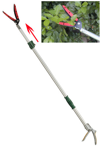 Telescopic Length Long Reach Leafage Pruner (Big Open)