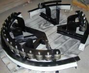 导轮式转弯组装
