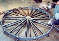 车轮式转弯组装