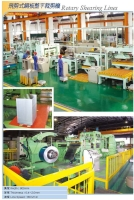 The Rotary Shear Line For 800mm Steel Coil