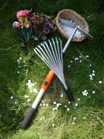 伸缩铝管替换式园艺工具