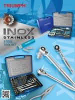INOX Stainless Steel Tool Set