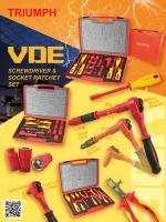 VDE Screwdriver & Socket Ratchet Set