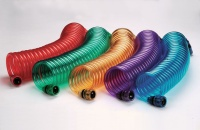 """3/8"""" Coiled Hose W/3/4"""" Brass Connector"""