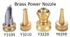 Brass Power Nozzles