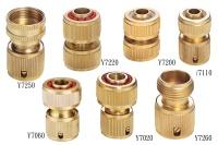 Brass Hose Connectors