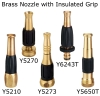 Brass Nozzle with Insulated Grip