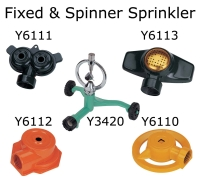 Cens.com Fixed & Spinner Sprinkler YONG YEN METAL CO., LTD.
