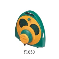 Combination Flat Hose With Rollers & Eight-Pattern Sprinkler