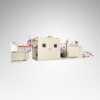 Continuous Preheating Vacuum Forming Machine