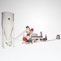 Two-stage Recycling Machine