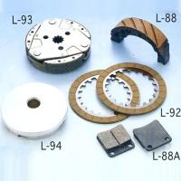 CLUTCH ASSY/ BRAKE SHOES/ TEFLON LIGHTER PULLY PLATE/ CLUTCH DISK/ BRAKE ROD
