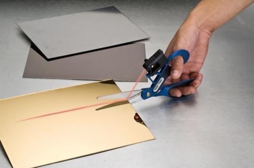 Laser-guided Scissors