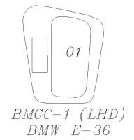 E36 排檔面板