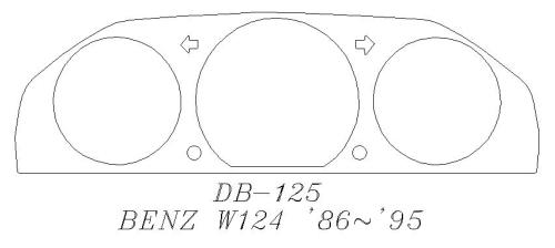 W124 轉速表