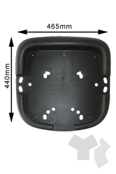 H201 Part-Seat cover