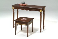 Wooden Tables or Desks, Wood Chairs