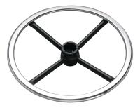 Adjustable footring w/Internal lock & release Mechanism (Steel flat ring & round spoke)_CH&BK