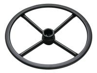 Adjustable footring w/Internal lock & release Mechanism (Steel flat ring & round spoke)_BK