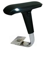 Adjustable Arm Rest with 4D Multi-function Arm Pad (Chrome Bracket  )
