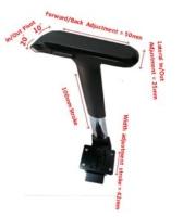 新型4D-手拉式升降扶手+4D多功能扶手垫 (CH&BK )