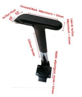 Adjustable Arm Rest with 4D Multi-function Arm Pad