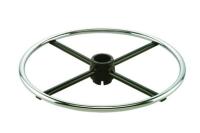 Adjustable footring w/Internal lock & release Mechanism (Round steel ring & spoke)_CH&BK