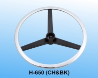 調整式腳圈(鐵製扁圈及三叉軸)_CH&BK