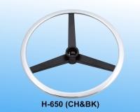 Adjustable footring w/Internal lock & release Mechanism (Steel flat ring & spoke)_CH&BK