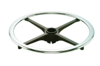 扁管鋁軸腳圈 (CH&BK)