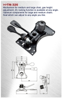 Cens.com Seat Mechanism TUNG YU O.A. CO., LTD.