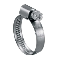 Worm Gear Hose Clamp (German type)