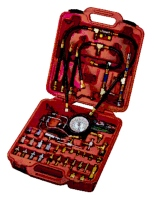 Gasoline engine injecting pressure tester set