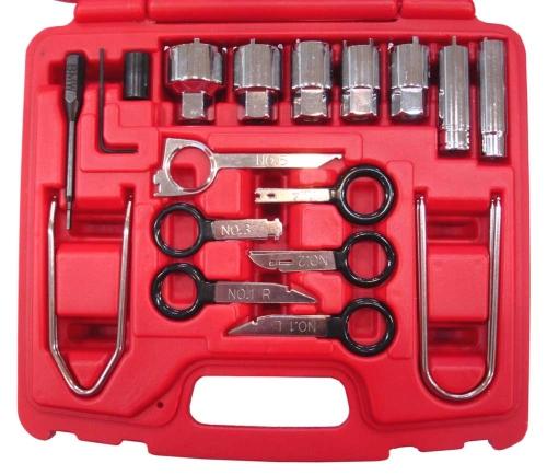 26PC. Universal Radio Removal Kit & Antenna Wrench Kit