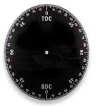 TDC Timing Degree Wheel (Aluminum)