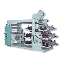 6-Colors Flexographic High Speed Printing Machine
