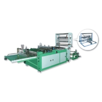 High-Efficiency Fully Automatic Side-Weld Bag-Making Machine with Servo-Drive System