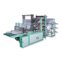 High-Efficiency Fully Automatic Bottom-Sealing Bag Making Machine