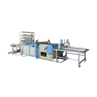 High-Efficiency Fully Automatic Universal and Multipurpose Bag Making Machine
