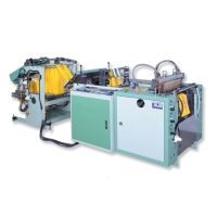 High-Efficiency Fully Automatic T-shirt Bag Making Machine with Servo-Drive System