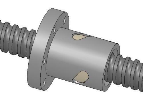 內循環法蘭型單螺帽