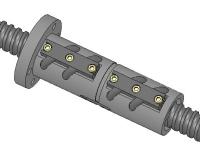凸管外循環法蘭型雙螺帽