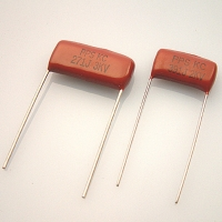 金屬化聚丙烯薄膜-箔式電容器 (高壓用途)