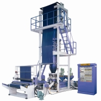 Two layers Co-extrusion Blown Film Machine