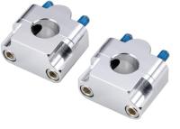 Alm Forge & CNC Finish Handlebar Clamp For 22.2MM Riser Kits(ASBRK)