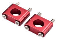TRIALS-Oversized Aluminum Forged & CNC Finished Handle Bar Clamp Riser Kits 28.6mm(ASBRK)