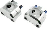 Forged Aluminum & CNC Finished Handlebar Adaptor Kit 28.6mm(ASBRK)