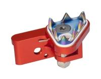 MOTOCROSS-Rear Brake Pedal Tip - Flexible + PVD-Coated Teeth (V Type)