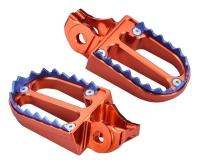 MOTOCROSS-Foot Pegs IV Titanium Teeth
